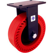 "RWM Casters 76 Series 6"" Nylatron® HD Wheel Rigid Caster - 76-NYB-0630-R"