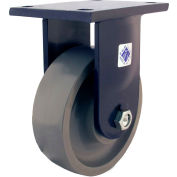 "RWM Casters 96 Series 8"" Urethane on Iron Wheel Rigid Caster - 95-UIR-0830-R"