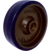 "RWM Casters 6"" x 1-1/2"" Urethane on Iron Wheel with Roller Bearing for 1/2"" Axle - UIR-0615-08"