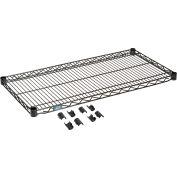 """Nexel® S1836B Black Epoxy Wire Shelf 36""""W x 18""""D"""