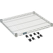"Nexel® S2130EP Nexelate® Wire Shelf 30""W x 21""D"