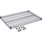 """Nexel® S2436N Nexelon® Wire Shelf 36""""W x 24""""D"""