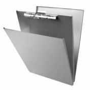 """Saunders Recycled Aluminum Forms Holder, Top Opening, 8-1/2"""" x 12"""", Silver"""