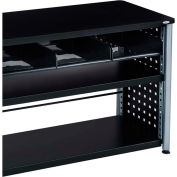 Mayline® - Safco® Scoot™ 3-Tray Cubby Bookcase, Black