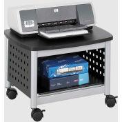 Safco® produits 1855BL Scoot™ Underdesk support d'imprimante