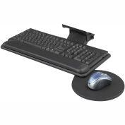 Safco® 2135BL Adjustable Keyboard Platform, Black