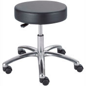 "Safco® Lab Stool - Vinyl - Pneumatic - 22""H - Black"