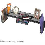 Safco® Onyx™ Mesh Off-Surface Shelf, Black