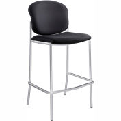 Safco® Diaz Bistro Chair - Fabric - Black