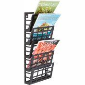 Mayline® - Safco® Grid Magazine Rack 5 Pocket