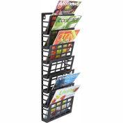 Mayline® - Safco® Grid Magazine Rack 7 Pocket