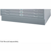 Closed Base for 4998, Gray