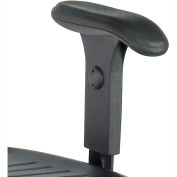 TaskMaster Adjustable T-Pad Armrests