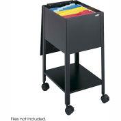 Safco® 5360 Economy Letter Sized Mobile Tub File - Black