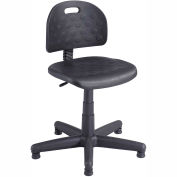 Safco® Soft Tough Economy Task Chair - Polyurethane - Black