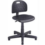 Safco® doux économique difficile tâche chaise - polyuréthane - noir
