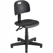 Safco® Soft Tough Deluxe Task Chair - Polyurethane - Black