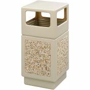 Safco® Canmeleon™ Aggregate Panel, Side Open, 38 Gallon, Tan - 9472TN