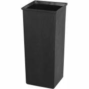 Safco® Plastic Liner, 21 Gallon, Noir