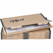 Art portable et portefeuilles de dessin - 42-1/4 x 30-1/4, 5 par Carton