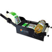 """START International LAB01 Manual Bottle Label Applicator for Cylindrical Items Up To 6-1/2"""" Dia."""