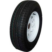 Sutong Tire ASR1126 Service Trailer Radial Tire ST205/75R14 - 6 Ply on 14 x 6 (5-4.5) Wheel