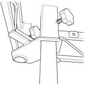 Steeldeck® IP Inset Post, Steel