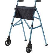 Stander™ 4300-CB EZ Fold N' Go Walker, Cobalt Blue