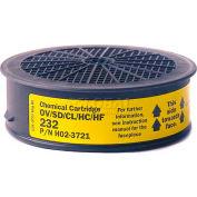 Sundstrom® Safety SR 232 Cartouche chimique, qté par paquet : 4