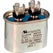 Supco® CD35+5X370, 35 + 5 MFD, 370V, Run Capacitor, Oval - Pkg Qty 5