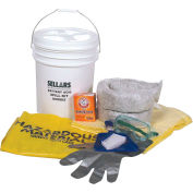 EverSoak® Battery Acid Spill Kit, 6.5 Gallon Capacity, 1 Spill Kit/Case