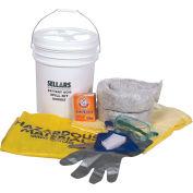 EverSoak® Battery Acid Spill Kit, 6.5 Gallon Capacity, 1 Spill Kit/Case