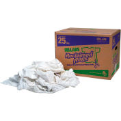 Reclaimed Rags - Pure White, 25 Lbs.