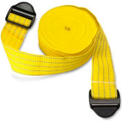 "Park Sentry® Yellow Reflective Strap with Strap Lock Buckle, 100""L x 2""W, Set of 2"