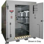 """Securall® 7'W x 9'D x 8' 4""""H Agri-Chemical Storage Building 12 Drum"""