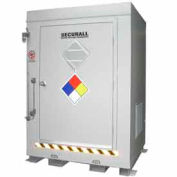 "Securall® 5'W x 3' 6""D x 6' 11""H Agri-Chemical Storage Building 2 Drum"