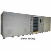 """Securall® 26'W x 8'D x 8' 4""""H Agri-Chemical Storage Building 48 Drum"""