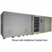 """Securall® 42'W x 8' x 8' 4""""H Agri Chemical Storage Building 80 Drum"""