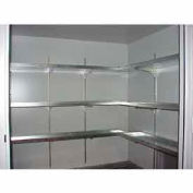 "Securall® Shelves, 14""W with 2"" Lip Sides for Building Models AG/B"