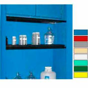 "Securall® Extra Shelf for Cabinets 24"" Wide Blue"