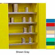 """Securall® Extra Shelf for 43""""Wx12""""D Wall Mounted Cabinet White"""