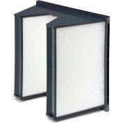 """Purolator® 5360867082 SERVA-CELL® Rigid Box Filter, Plastic 12""""W x 24""""H x 12""""D"""