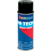Hi-Tech Enamel 16 Oz. Semi-Gloss Black 6 Cans/Case - 16-139
