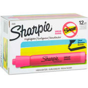 Sharpie® Accent Tank Highlighter, Smear Guard, Chisel Tip, Fluorescent Pink Ink, qté par paquet : 12
