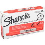 Sharpie® Twin-Tip Permanent Marker, Fine/Ultra Point, Red Ink, qté par paquet : 12