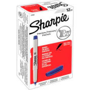Sharpie® Marqueur permanent, Ultra-Fine, Encre Bleue, qté par paquet : 12