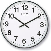 "Infinity/Itc 90/0019-1  Oversized 12-Hour Clock - 19"" Diameter"