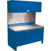 Realiti® Workcenter-Stationary Includes Stainless Steel Top-Monaco Blue