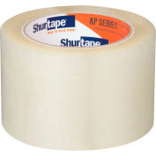 "Shurtape® AP 201 Carton Sealing Tape 3"" x 110 Yds. 2 Mil Clear - Pkg Qty 24"