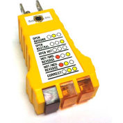 Static Solutions SP-101 Earth Ground Checker with LED Indicator Lights & Wrist Strap Jack